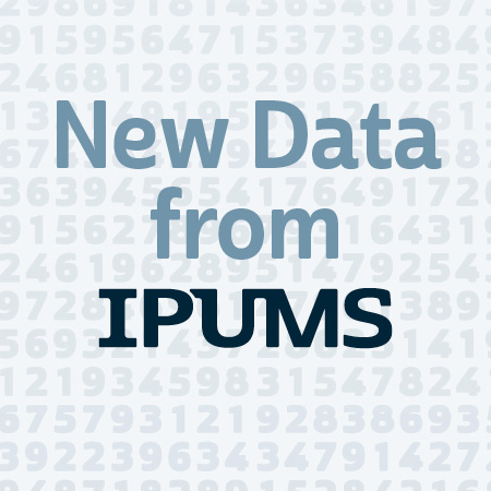New Data from IPUMS