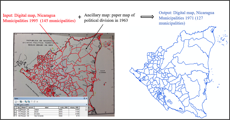 Challenges in Mapping the Past the Example of Administrative
